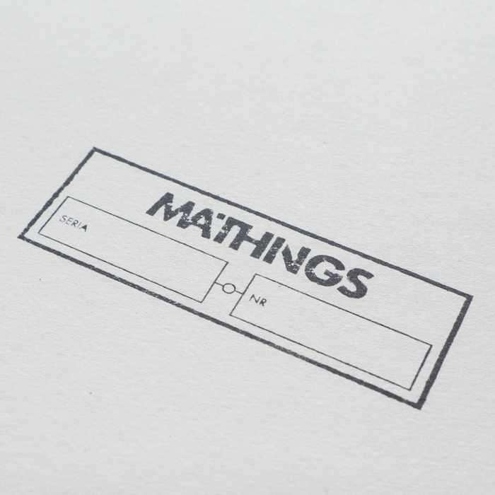 Mathings - Stamp